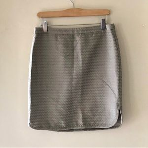 Ann Taylor LOFT grey skirt - size 8 petite